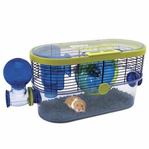 linda jaula para hamster de ¡lujo! habitrail twist + regalo
