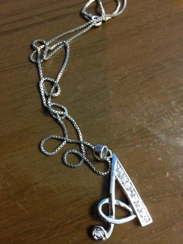 linda jóia gargantilha em prata de lei maciça com swaroviski