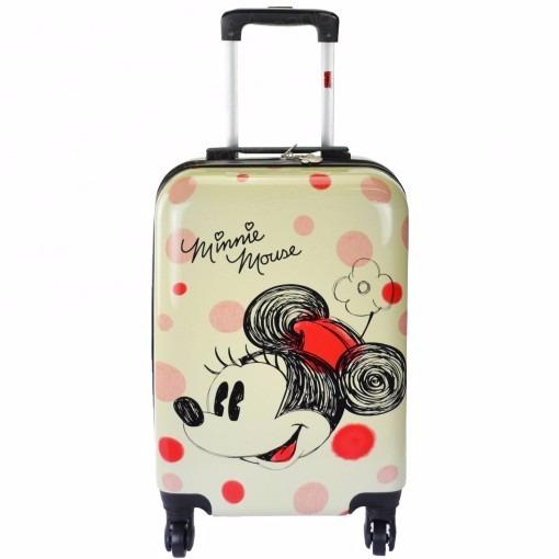7de4c4fa4 Linda Mala Infantil Viagem Ou Escolar Minnie Mouse Disney - R$ 599 ...