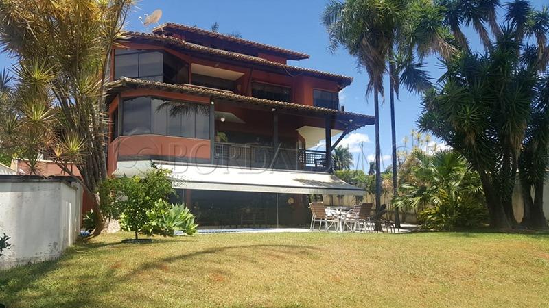 linda mansão com vista panorâmica para 3º ponte e o lago! - villa114477