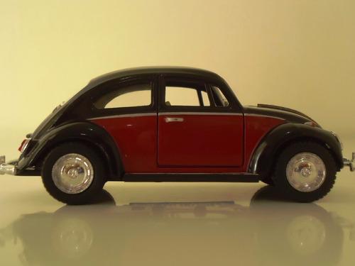 linda miniatura em metal carro antigo fusca beetle 1967