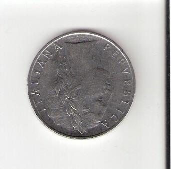 linda moeda da itália de 100 liras de 1964 - vejam a foto !