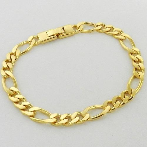 linda pulseira b ouro 18 k