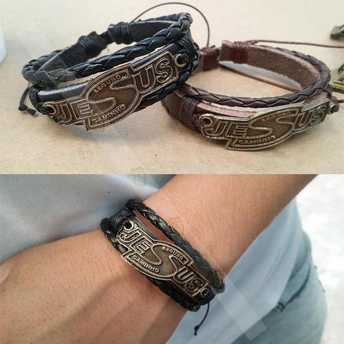 linda pulseira bracelete masculina feminina com nome jesus
