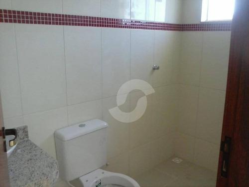 linda residência em condomínio em itaipuaçu! - ca1207