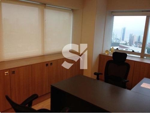 linda sala comercial mobiliada - garibaldi - vitraux - sl0853