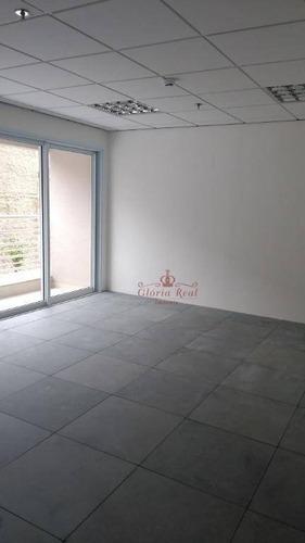 linda sala comercial para locação, vila romana - pacote de locação: r$ 1.700,00 - sa0018