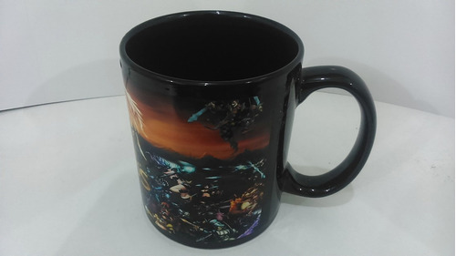 linda taza legend of legend taza negra