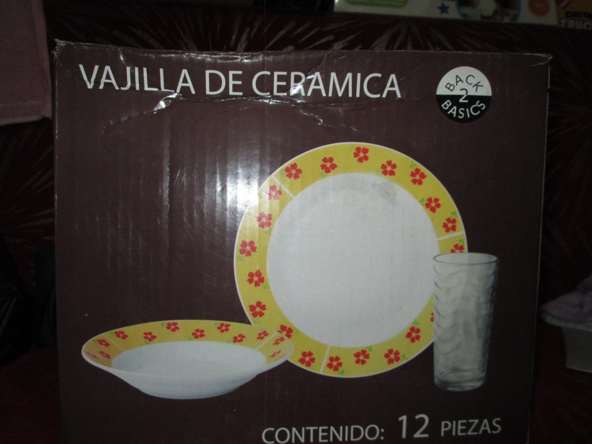 Linda vajilla de ceramica en mercado libre for Vajilla ceramica