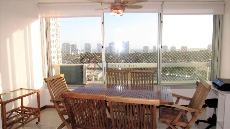 linda vista a playa mansa, terraza integrada- ref: 10891