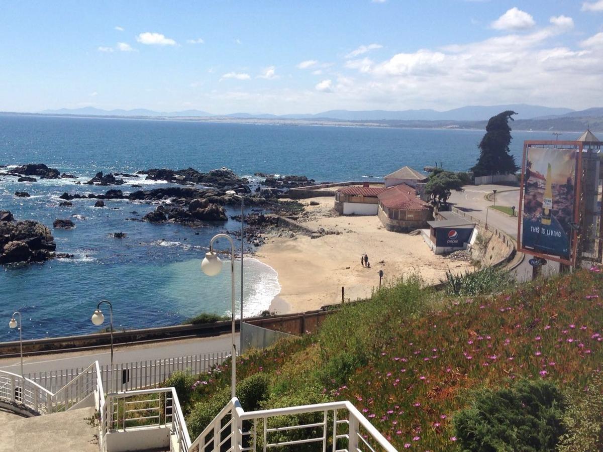 linda vista al mar, bajada a la playa, cercano a reñaca