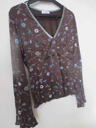 lindas blusas importadas como nueva.talla m.