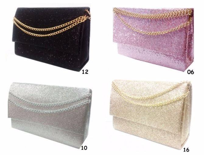 Bolsa De Festa Sp : Lindas bolsas de festa com corrente glitter escolha a