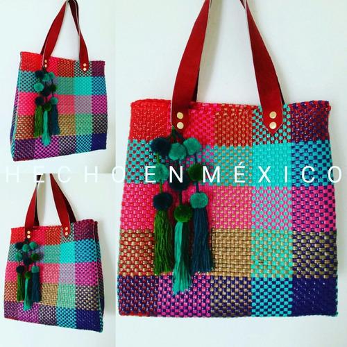 lindas bolsas de tejido artesanal!!