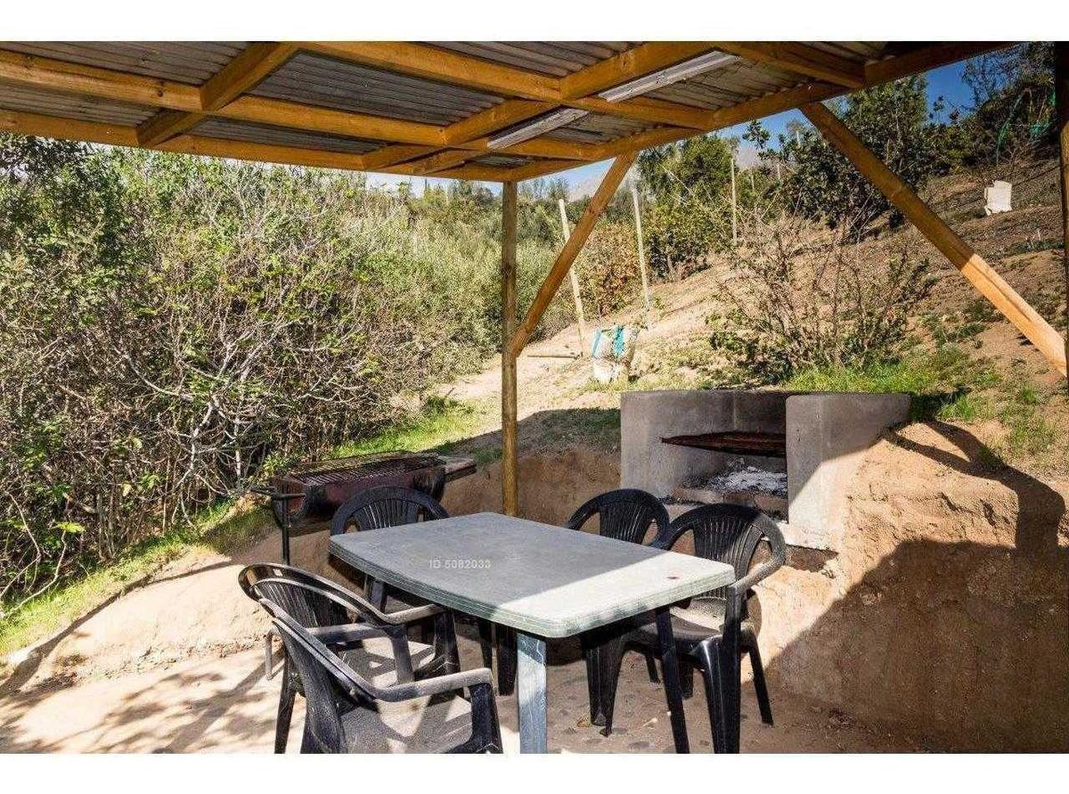 lindas cabañas para 5 personas en entorno natural a 20 km de olmue