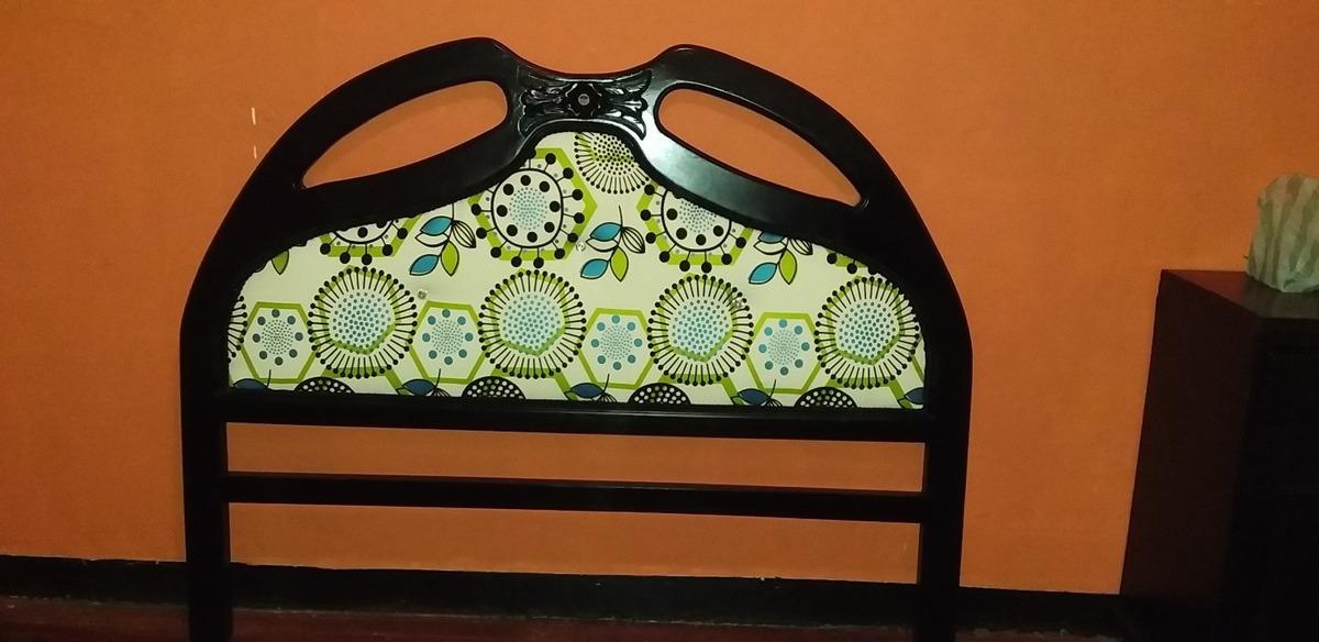 lindas camas de madera tapizada en buen precio de regalía