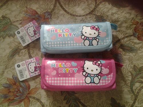 lindas cartucheras para escuela  de hello kitty