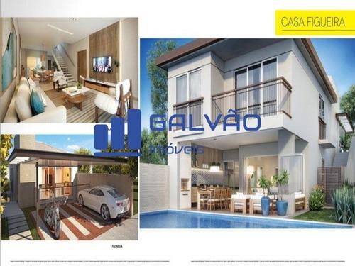 lindas casas 4 ou 5 quartos 4 suítes em condomínio fechado na mata da praia, vitória - es - ca00004 - 2787076