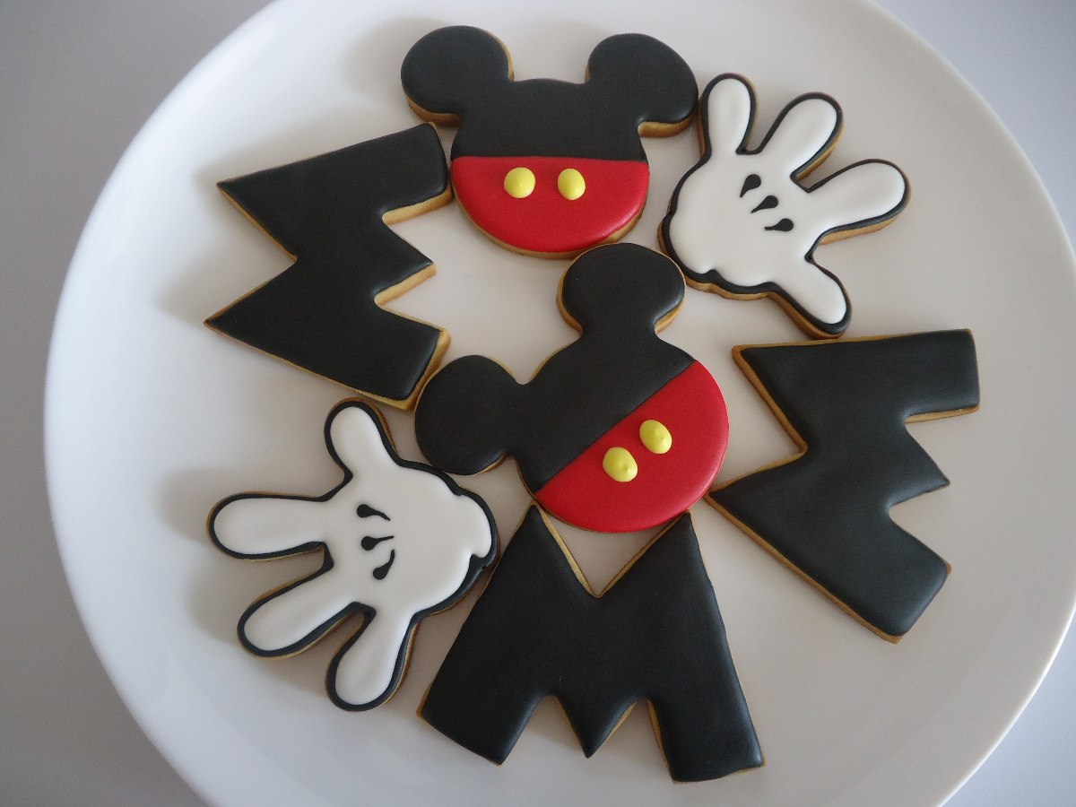 Lindas Galletas Decoradas Mickey Minie Mouse Fiesta