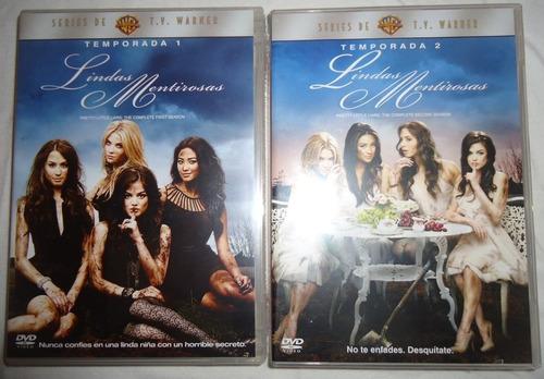 lindas mentirosas paquete temporadas 1 2 3 4 dvd