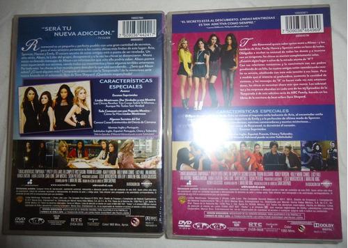 lindas mentirosas paquete temporadas 1 2 3 dvd