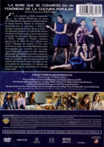 lindas mentirosas temporada septima 7 siete dvd