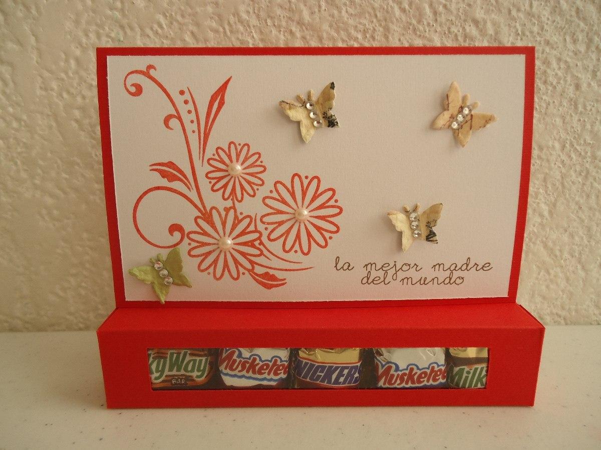 Lindas Tarjetas C Chocolates Originales 10 De Mayo Mama