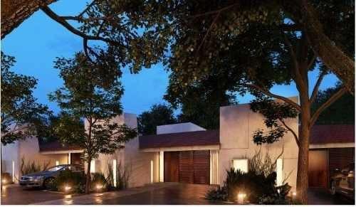 lindas villas en privada en santa rita cholul