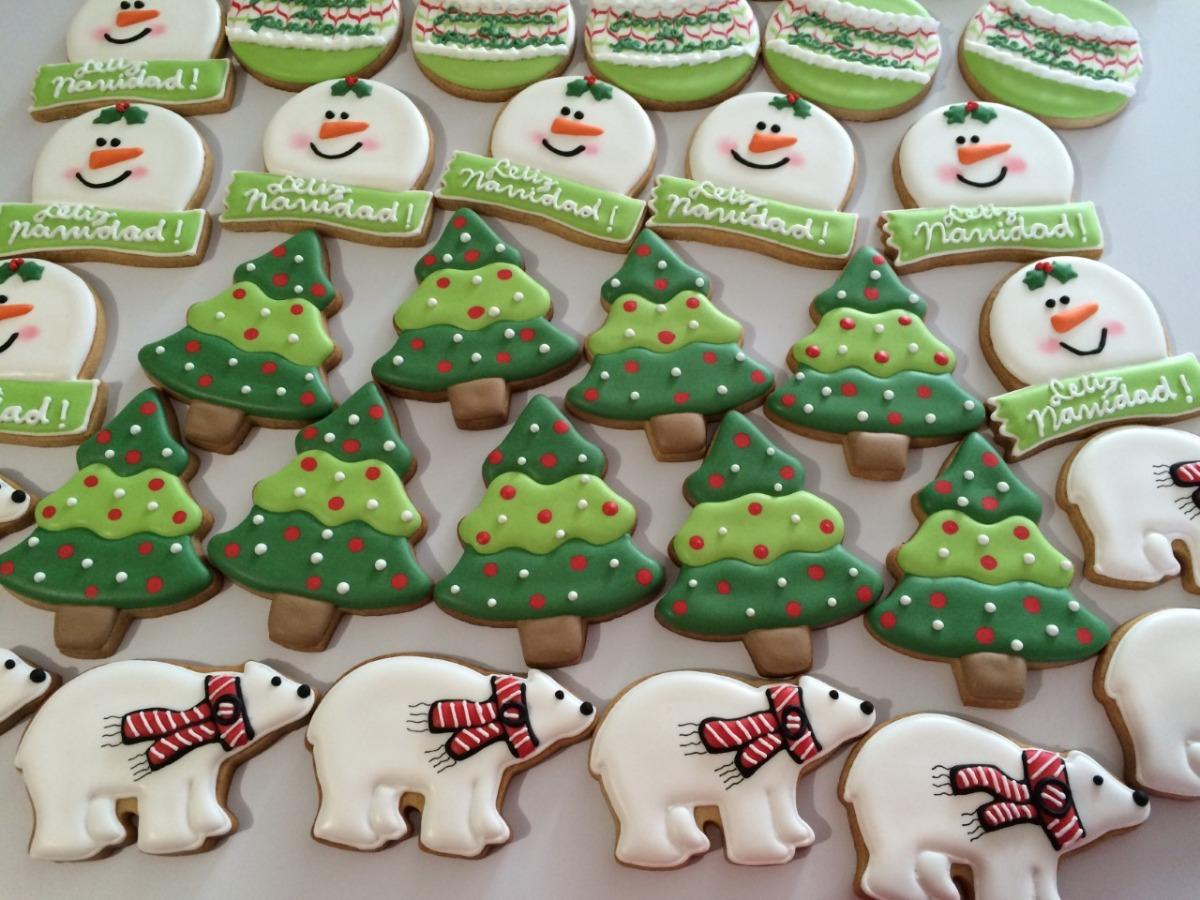 Imagenes De Galletas De Navidad Decoradas.Lindas Y Deliciosas Galletas Decoradas Navidad Regalo