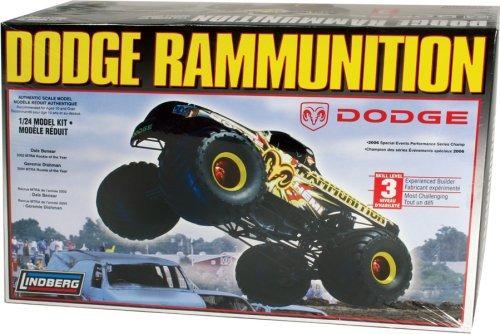 lindberg 1/24 dodge rammunition kit de modelos de coche - 7
