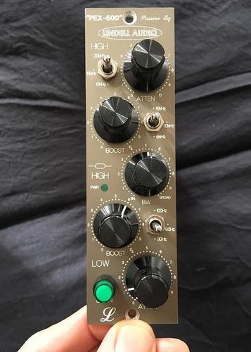 lindell audio pex-500 estilo pultec eq pasivo ecualizador
