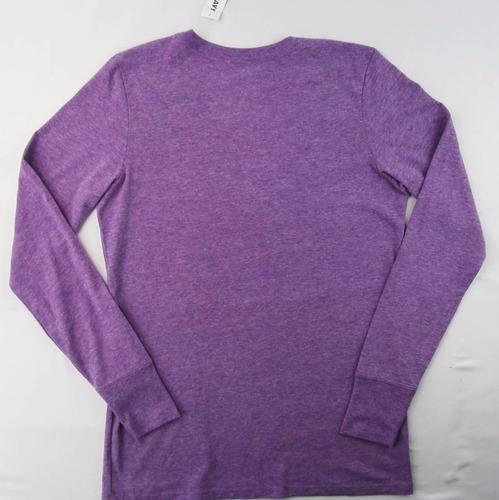 lindísima blusa lila para dama old navy talla s envío gratis