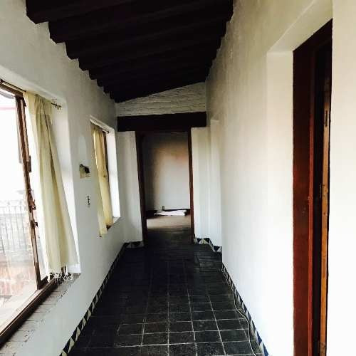 lindísima casa estilo mexicano en calle alpina, tizapán, alvaro obregón
