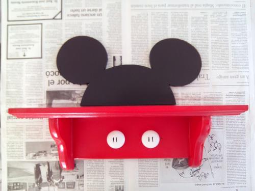 lindisima repisa decorativa mickey mouse con orejas