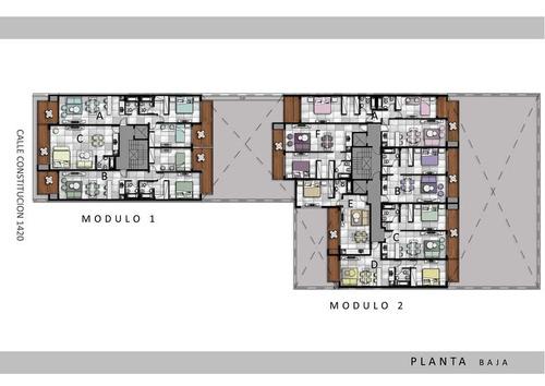 lindisimo 2 ambientes, balcon c/parrilla, financiacion en pesos