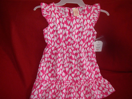 lindisimo vestid niña t-4/5 añitos marca   faded glory