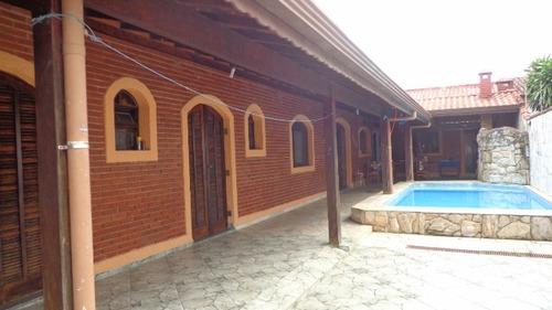 lindíssima casa com piscina, um lindo acabamento - ref 2708