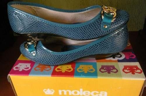 lindissima sapatilha moleca azul tamanho 37!!