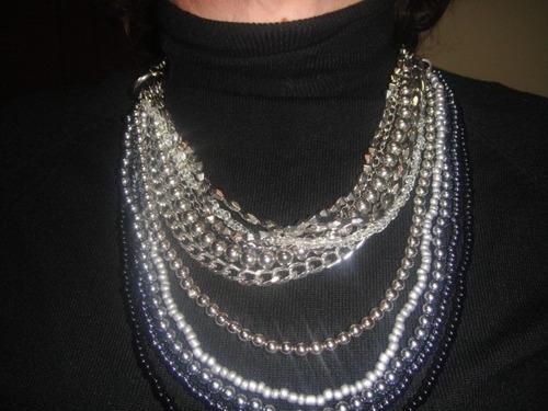 lindíssimo colar para mulher elegante (noite)