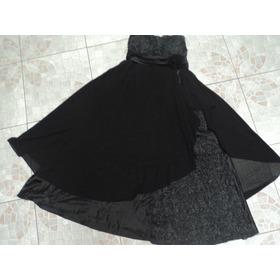 Lindíssimo Vestido Black Tie Plus Size Mendry 50 - Seminovo