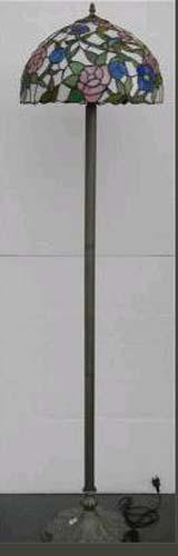lindo abajur pedestal coluna tiffany   cod 359z