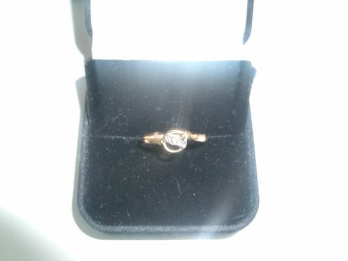 lindo anel em ouro 100% 18k com detalhe  em ouro branco