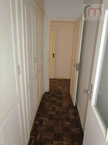 lindo apartamento, 1 por andar, canal 3, vila rica e gonzaga ao seus pes... - codigo: ap0523 - ap0523