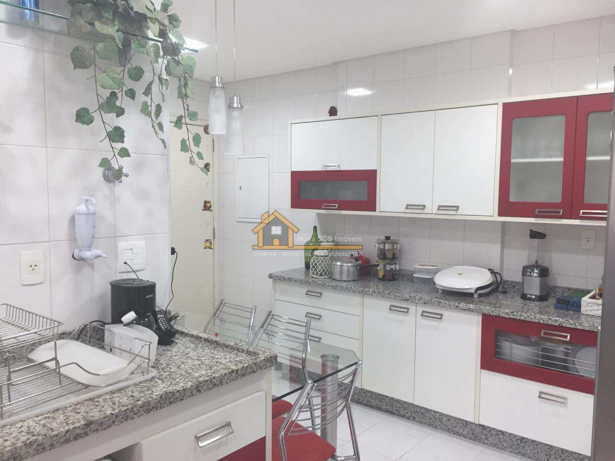 lindo apartamento, 150m², 4 dorms, 3 suites, santa paula, scs - v310