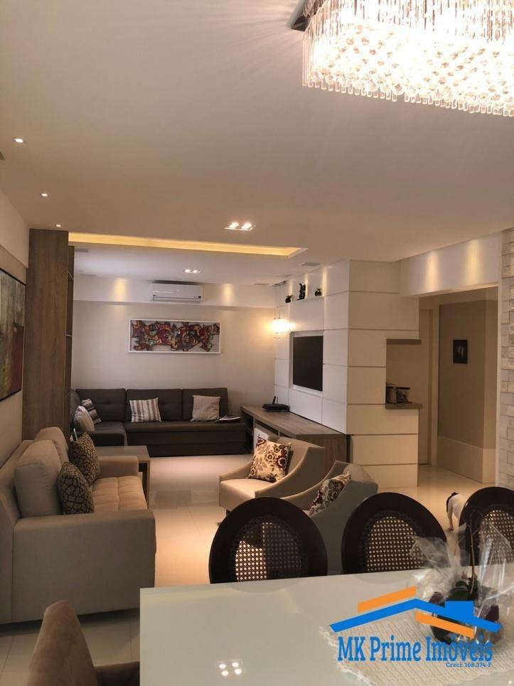 lindo apartamento, 167 m², 3 suítes, 3 vagas, no lorian boulevard. - 13