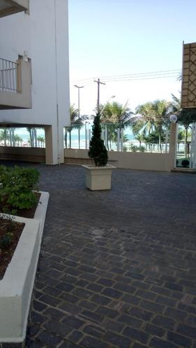lindo apartamento 2 dormitorios frente para o mar