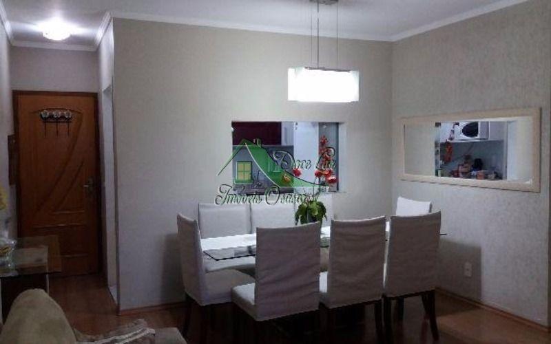 lindo apartamento 3 dormitórios, condomínio nova era. osasco.