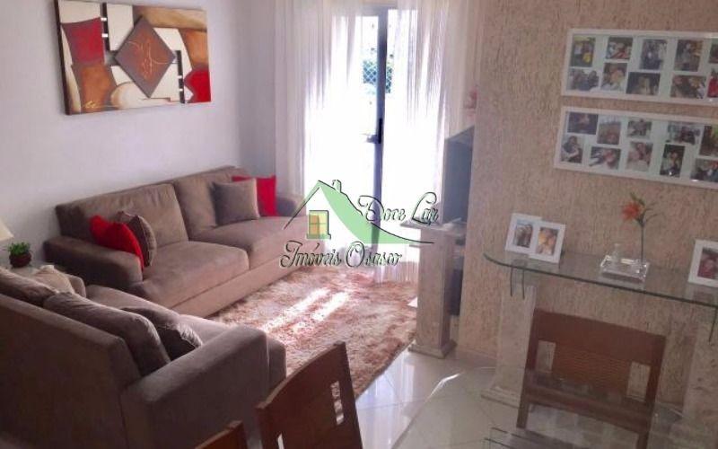 lindo apartamento 3 dormitórios. jaguaribe, osasco.