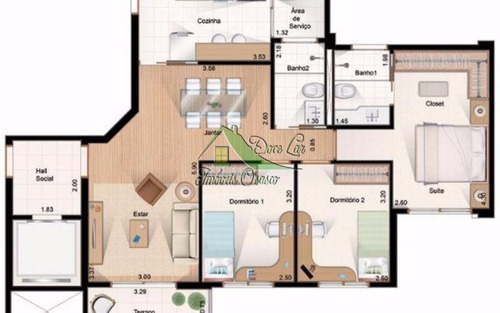 lindo apartamento 3 dormitórios. umuarama, osasco.