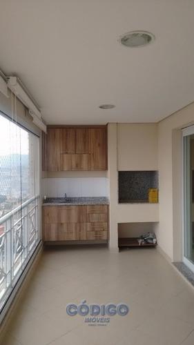lindo apartamento 3 suites, 3 vagas -vila milton - 00892-1